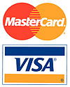 We accept credit cards : )